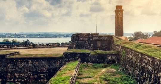Exploring the Galle Fort